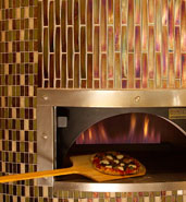 glass tile oven