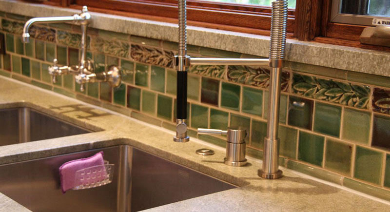 Kitchen Tiles Handmade handmade & sculptured tiles | stockton nj | charles tiles inc.