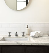 sink stone tile